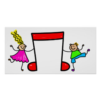 Music Kids Poster