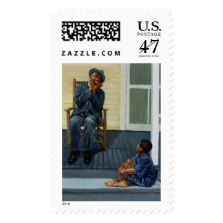 Music Lesson #1 2000 Postage Stamp