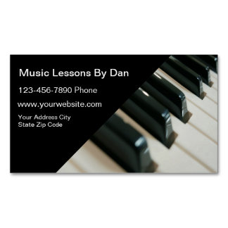 Music Lessons Business Card
