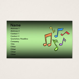 Music Lessons Business Card 02