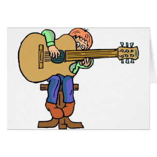 Music Lessons Greeting Card