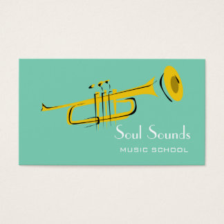Music Lessons Music Instructor Business Card