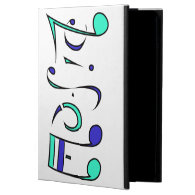 Music Life Ambigram iPad Case (Turn Upside Down!)