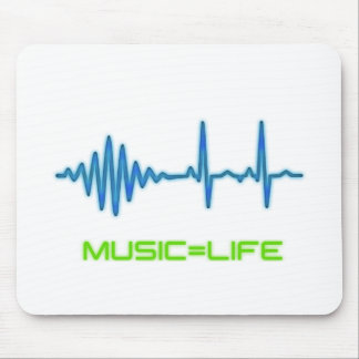 Music=Life Mouse Pad