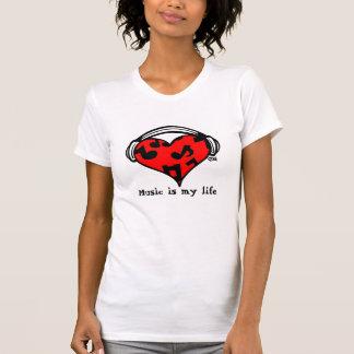 Music=Life T-shirts
