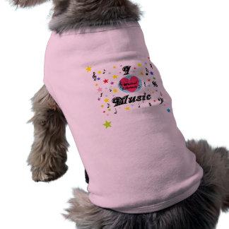 Music Lifetimes 'I Love Music' Doggie T-Shirt