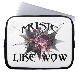 Music Like Wow Computer Sleeve