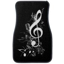 Music Lives in me_ Car Mat
