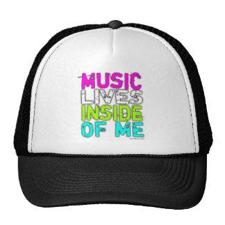 MUSIC LIVES INSIDE OF ME Trucker Hat