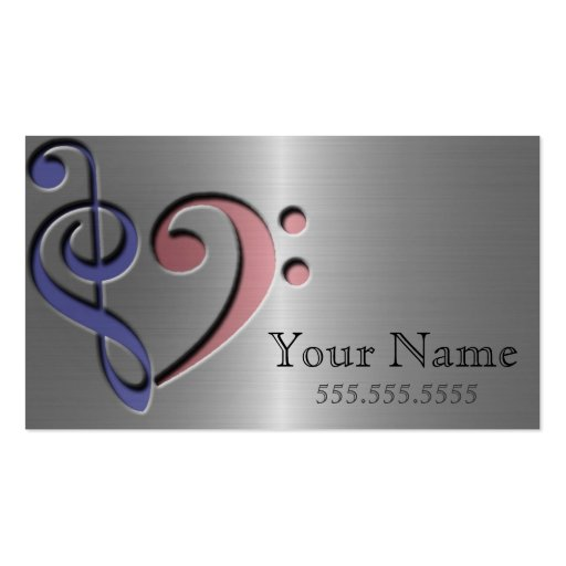 Music love business card template zazzle for Music business card template
