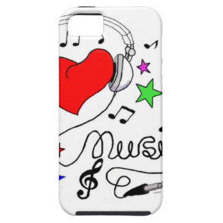 Music Love Case-Mate Case iPhone 5 Cover