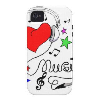 Music Love Case-Mate Case iPhone 4/4S Case