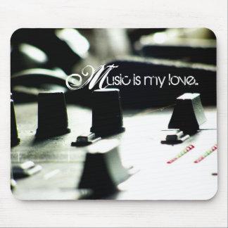 Music Love Mixer Mousepad