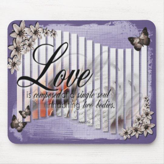 Music & Love - Mousepad