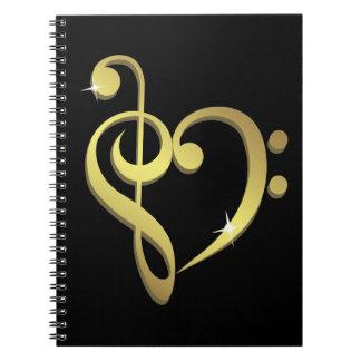 Music love notebook