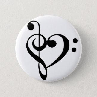 Music Love Pinback Button