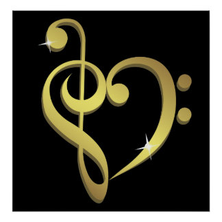 Music love poster