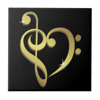 Music love tile