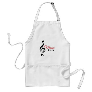 Music Lover Adult Apron