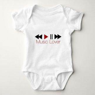 Music Lover Baby Bodysuit