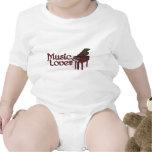 Music Lover Baby Creeper