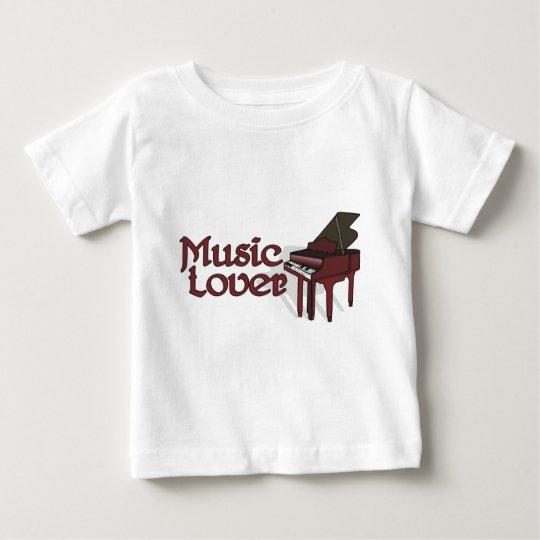 Music Lover Baby T-Shirt