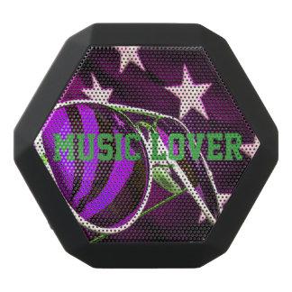 Music Lover Black Bluetooth Speaker