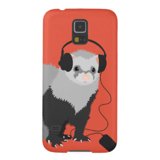 Music Lover Ferret Galaxy S5 Cover