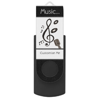 Music Lover Flash Drive