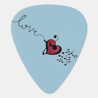 Music Lover Guitar Pick