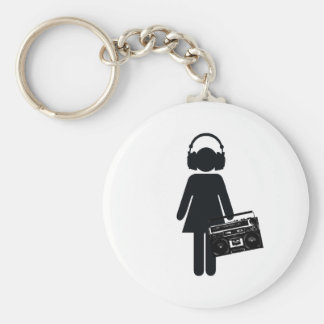 Music Lover Keychain