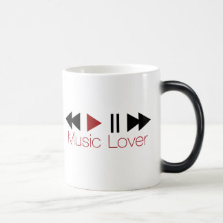 Music Lover Magic Mug
