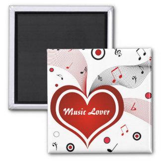 Music Lover - Magnet