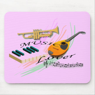 Music Lover Mouse Pad