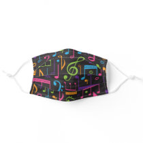 Music Lover Musician Band Director Adult Cloth Face Mask