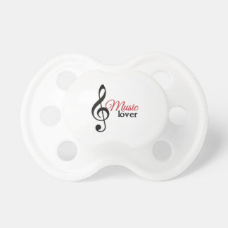 Music Lover Baby Pacifiers