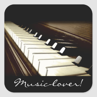 MUSIC-LOVER Piano-keys Stickers