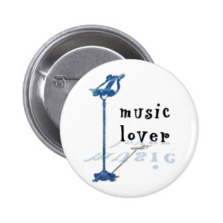 Music Lover Pinback Button