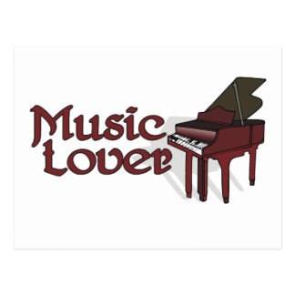 Music Lover Postcard