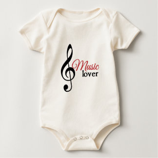 Music Lover Rompers