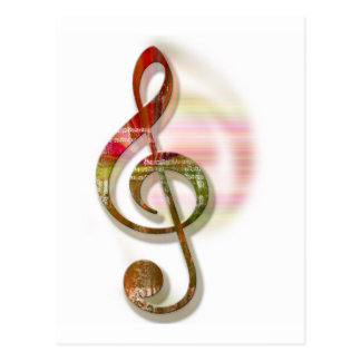 Music Lovers 2 Postcard