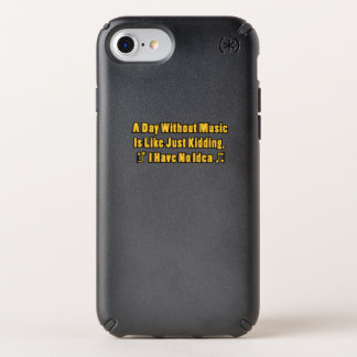 Music lovers A Day Without Music Speck iPhone Case