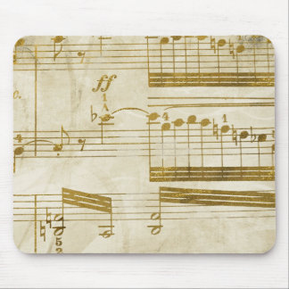 music lovers cleft note cases mouse pad