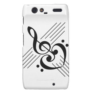 Music Lovers Custom Symbol Products Droid RAZR Cases