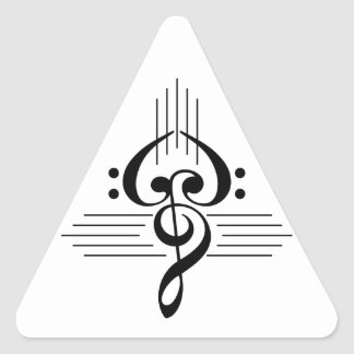 Music Lovers Custom Symbol Products Stickers