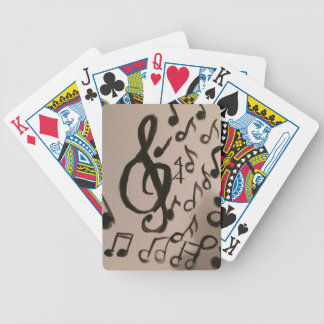 Music Lovers Delight Bicycle Playing Cards