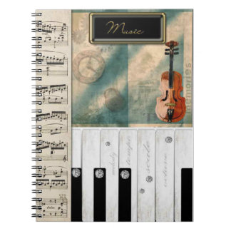 Music Lover's Dream Notebook