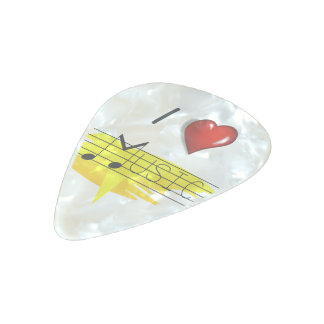Music lovers pearl celluloid guitar pick