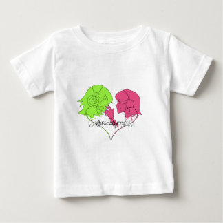 music lovers poster baby T-Shirt