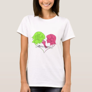 music lovers poster T-Shirt